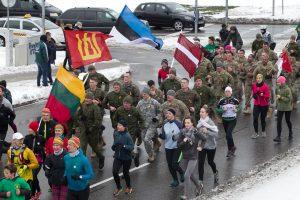 Tradiciniu bėgimu bus pagerbti žuvusieji už Lietuvos laisvę