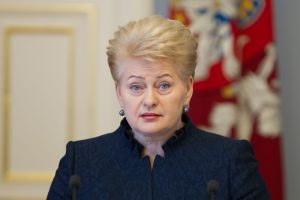 D. Grybauskaitė: sovietinė okupacija neleidžia prarasti budrumo