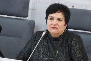 Ministrė barė Egzaminų centrą dėl klaidų testuose