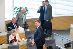 Po prezidentės veto – turgus Seime