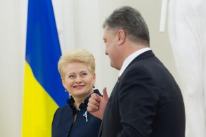 D. Grybauskaitė vyks į Ukrainą susitikti su P. Porošenka