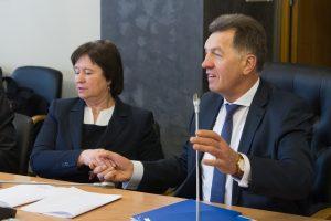 A. Butkevičius melage išvadino buvusią ministrę V. Baltraitienę
