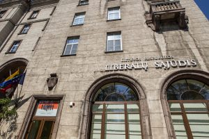 Buvusią liberalų būstinę Vilniuje ketinama perleisti Šaulių sąjungai