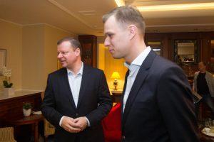 Įspėjo S. Skvernelį dėl susitikimų su G. Landsbergiu: gali prisižaisti