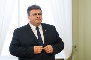 L. Linkevičius: stengiamės atnaujinti kontaktus JAV ir sukurti naujų