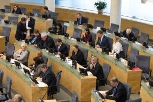 Per pavasario sesiją Seimo laukia daug darbų