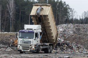 Vilniaus regiono atliekos dar mėnesį bus saugomos Kazokiškių sąvartyne