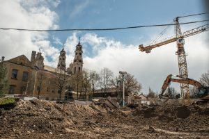 Vilniaus arkivyskupija rengiasi prikelti Misionierių vienuolyno ansamblį