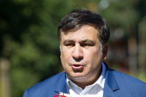 M. Saakašvilis: Rusija ruošiasi užimti Baltarusiją
