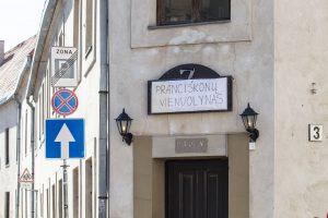 Iškraustyto baro patalpose pranciškonai vienuoliai kurs muziejų