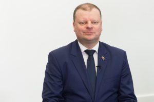Premjeras nusižiūrėjo kandidatą ir į teisingumo ministrus