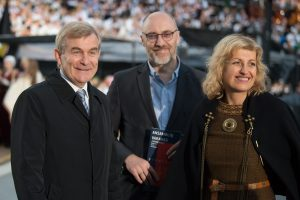 Dainų šventės svečiai – Estijos ir Vokietijos kultūros ministrai