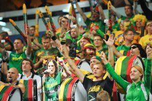 Vilniečiams – galimybė krepšinio rungtynes stebėti didžiausioje fanų zonoje