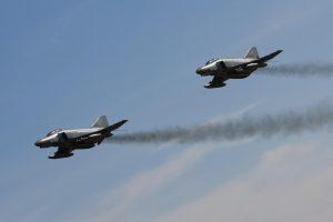 NATO naikintuvai du kartus lydėjo rusų orlaivius