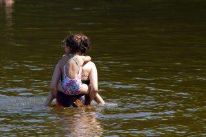 Pasidomėkite prieš lįsdami į vandenį: vanduo švarus ne visur