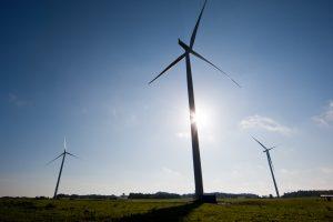 Šiemet pusė šalyje pagamintos elektros sugeneruota vėjo elektrinėse