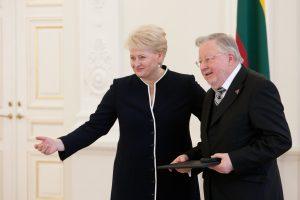 D. Grybauskaitė: V. Landsbergis visada buvo ir bus pirmasis valstybės vadovas