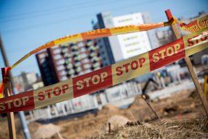 Vilniuje statybvietėje mirtinai sužalotas darbininkas