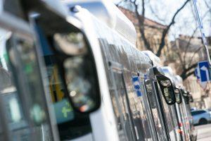 Keisis 32 ir 73 autobusų maršrutų trasos
