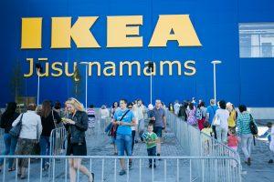 """""""Ikeos"""" planai – plėtra Lietuvoje, parduotuvės Latvijoje ir Estijoje"""