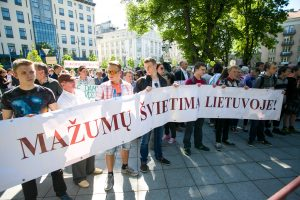 Vilniaus tautinių mažumų mokykloms – žalia šviesa tapti gimnazijomis