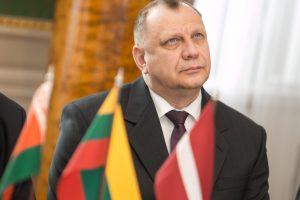 Lietuva pasiaiškino Baltarusijai dėl oro erdvės pažeidimo