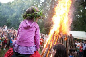 Medininkų pilis kviečia į Rasų šventę