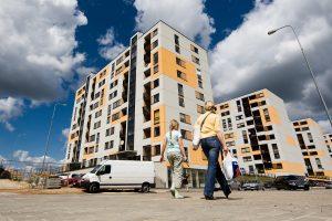 Nuo krizės žemumų būsto kainos Vilniuje išaugo penktadaliu
