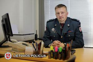Trakų rajono policijos komisariatui vadovaus S. Šemis