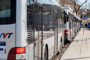 Nuo vasario 1-osios keičiami viešojo transporto maršrutų tvarkaraščiai