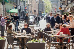 Vilniaus gatvės verslininkams – lauko kavinių nuomos lengvatos