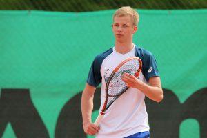 Perspektyvus tenisininkas skinasi kelią į elitą