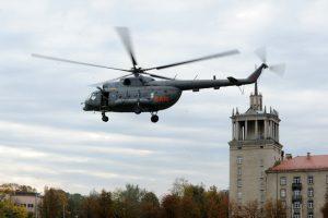 Į Kauną sraigtasparniu atgabenta donoro širdis