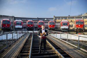 Lietuva sveikina Lenkiją: himną atliko septyni lokomotyvai (išgirskite!)