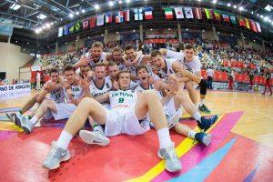 Lietuvos 17-mečiai iškovojo pasaulio krepšinio čempionato bronzą