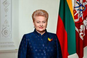 D. Grybauskaitė sveikina Lietuvą: švęskime laisvės šventę!