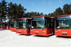 Nuo balandžio 14 d. – autobusų maršrutų pokyčiai