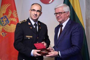Akredituotas naujasis Juodkalnijos gynybos atašė Lietuvai