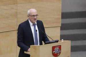 Konservatoriai kreipiasi į etikos sargus: S. Jakeliūno poelgis šokiravo