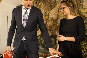 A. Armonaitė ir R. Šimašius kuria liberalią politinę partiją