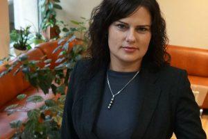 Sveikatos ministerijoje darbą pradeda laikinoji kanclerė O. Vitkūnienė