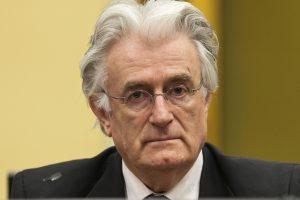 JT tribunolo posėdis dėl R. Karadžičiaus apeliacijos numatytas balandį