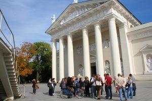 Turizmo dienos proga – ekskursijos po Vilnių