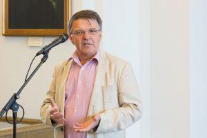 VU tarybos pirmininku išrinktas verslininkas R. Kraujalis