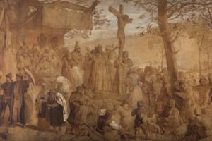Parodos akcentas – šimtmetį dingusiu laikytas paveikslas