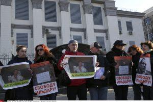 Rusijoje kalinamas aktyvistas I. Dadinas teigia sulaukęs grasinimų nužudyti