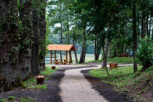 Poilsiautojams Trakų rajone – nauja stovyklavietė ir pažintinis takas