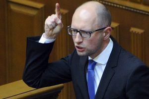 Ukrainos premjeras: antras dujotiekis tarp Rusijos ir Vokietijos – antieuropietiškas