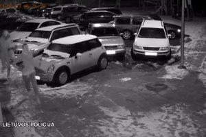 Padėkite policijai: gal atpažinsite automobilių įrangos vagis?