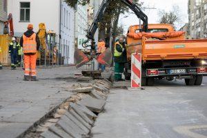 Šiemet atsinaujins visa Antakalnio gatvė – prasidėjo paskutiniai darbai